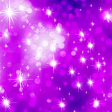 Glittery purple Christmas background. EPS 8 Stock Images