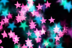 Glittery star background Royalty Free Stock Image