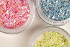 Glittery stones Stock Image