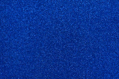 Glittery texture. Blue glitter paper. Glittery texture. Shining background. Blue glitter Stock Photo