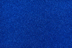 Glittery texture. Blue glitter paper Royalty Free Stock Photography