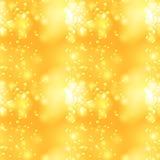 Glittery vintage yellow seamless pattern.  Royalty Free Stock Photos