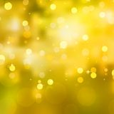 Glittery yellow Christmas background. EPS 10 Stock Photos