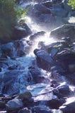 Glittra vattenfallet Royaltyfria Foton