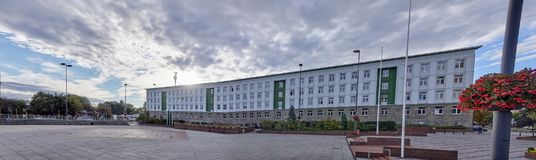 Gliwice Poland Silesian University of Technology Building Stock Image