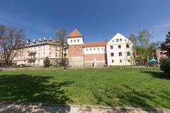 Gliwice, widok miasto kwadrat/ Zdjęcia Royalty Free