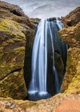 Gljufrafoss panorama Stock Images