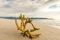 Glli在巴厘岛印度尼西亚附近的空气海岛 图库摄影