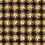Glänsande guld- Dots Disco Mosaic Background Arkivfoton