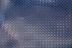 Glänzende Chrom-Diamant-Platte Stockfotografie