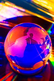 Glob di colore Fotografie Stock