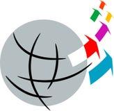 Glob logo Stock Images