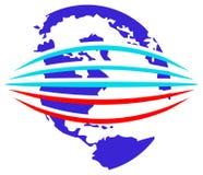 glob logo ilustracji