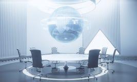 Globaal bedrijfs en communicatie concept Royalty-vrije Stock Afbeelding