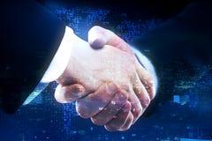 Globaal bedrijfs en vennootschapconcept stock afbeeldingen