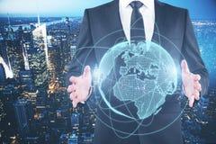 Globaal bedrijfsconcept stock foto