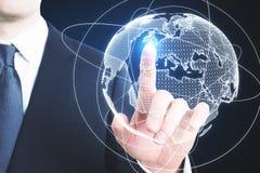 Globaal bedrijfsconcept Royalty-vrije Stock Afbeelding