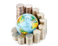 Globaal bedrijfsconcept royalty-vrije stock foto