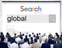 Globaal Communautair Communicatie Concept Wereldwijd Royalty-vrije Stock Fotografie