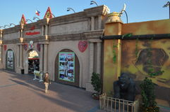 Globaal Dorp in Doubai, de V.A.E royalty-vrije stock fotografie