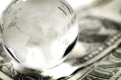 Globaal financiënconcept Stock Foto