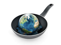 Globaal het verwarmen concept Stock Fotografie