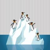 Globaal het verwarmen ontwerp Milieupictogram Het concept van de ecologie Stock Fotografie