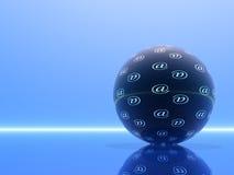 Globaal Internet stock illustratie