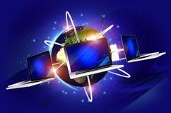 Globaal Netwerkconcept royalty-vrije illustratie