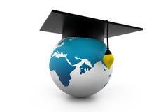 Globaal onderwijs Royalty-vrije Illustratie