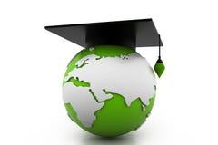 Globaal onderwijs Vector Illustratie