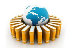 Globaal onderwijs Stock Illustratie