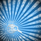 Globaal onderzoek Royalty-vrije Stock Afbeeldingen
