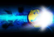 Globale communicatie technologie royalty-vrije illustratie