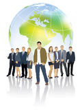 Globaal team Royalty-vrije Stock Afbeeldingen