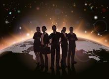 Globaal teamconcept royalty-vrije illustratie