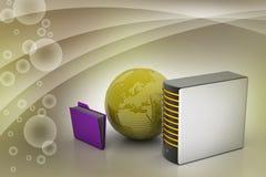 Globaal voorzien van een netwerkconcept Royalty-vrije Stock Afbeeldingen