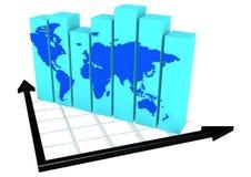 Global affär Arkivfoto