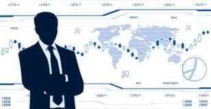 global affär Arkivbilder