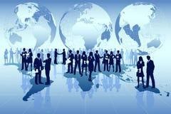 global affär Arkivfoton