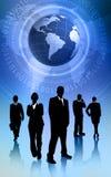 global affär Royaltyfri Bild