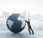 global affärsidé Arkivbild