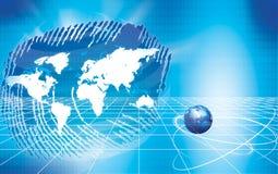 global affärskommunikation Royaltyfria Bilder