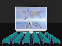 global affärskonferens vektor illustrationer