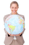 global affärsutvidgning Royaltyfri Bild