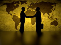 Global agreement Royalty Free Stock Images