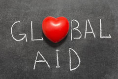 Global aid Stock Image