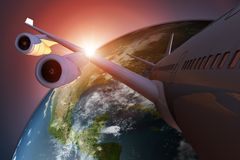 Global Air Travel Concept Stock Images