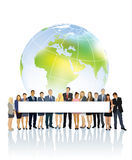 global annonsering Arkivbild