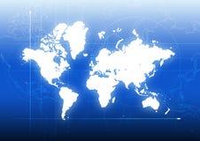 global anslutning Arkivfoto